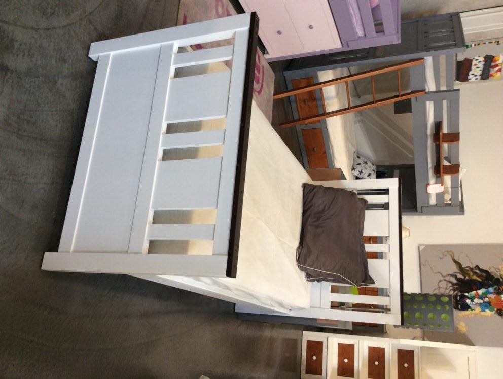 milano modern twin size bed