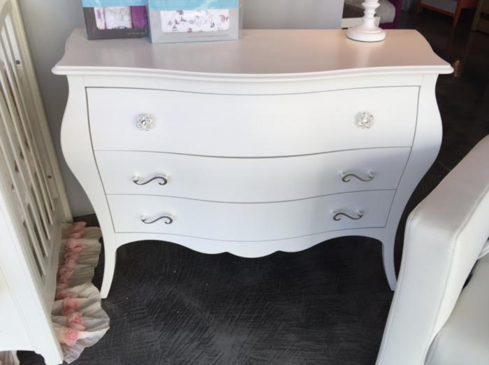 natart allegra dresser in white