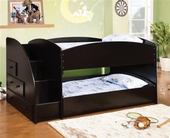 CM-BK921BK-T black twin bunk