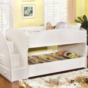 CM-BK921WH-T twin white bunk