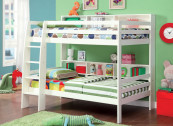 CM_BK613WH twin over twin bunk bed