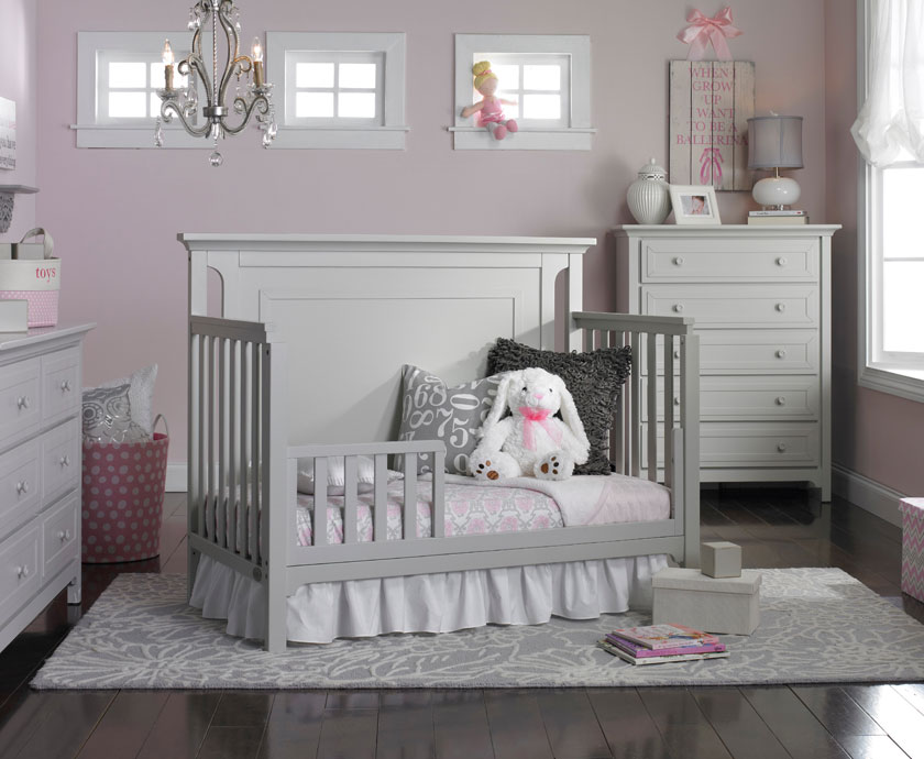 Bed With Inset Crib