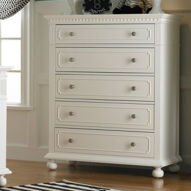 Dolce Babi Naples 5 Drawer Chest Kids Furniture In Los