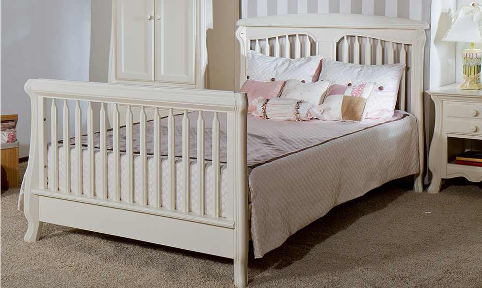 Romina Nerva Convertible Crib Kids Furniture In Los Angeles