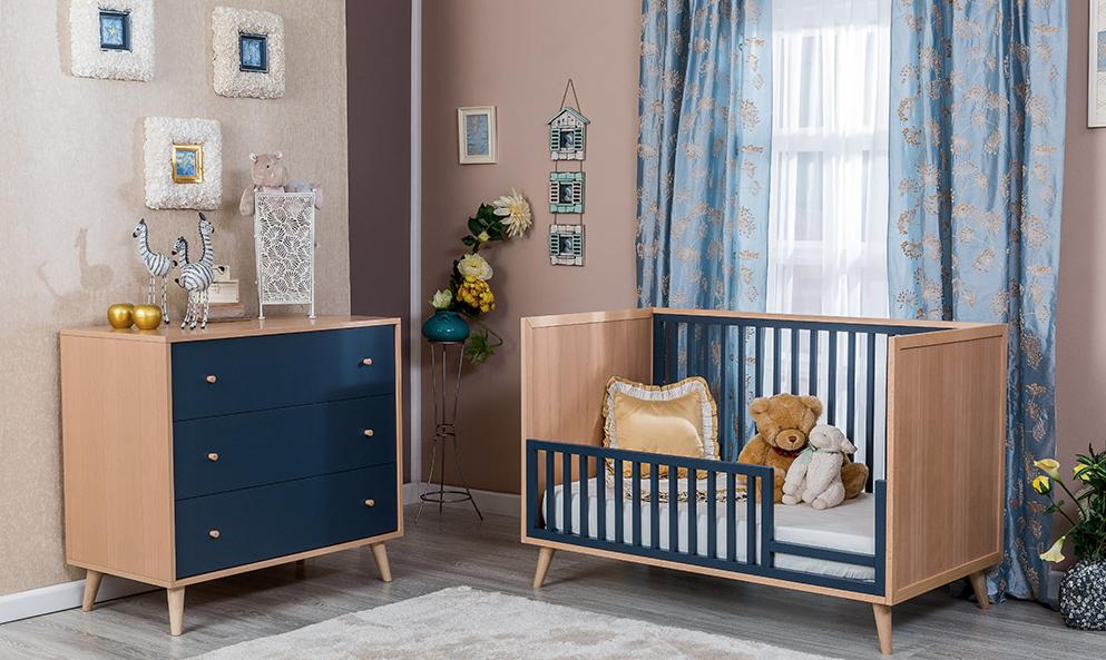 Romina New York Classic Crib Kids Furniture In Los Angeles