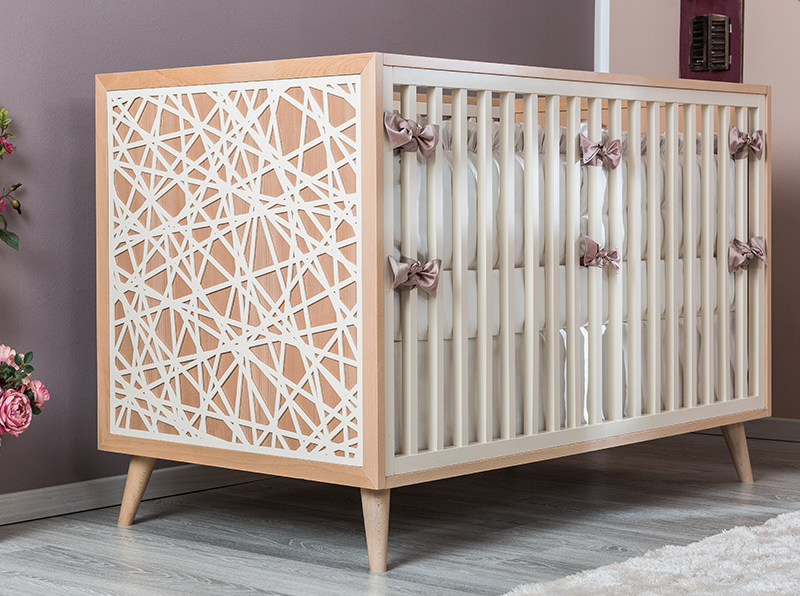 Romina New York Classic Crib Kids Furniture In Los Angeles