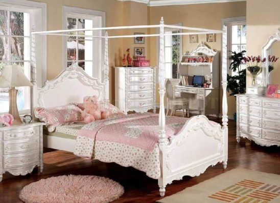 cm7519 pearl canopy bed