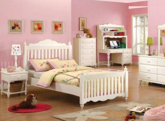 cm7617sl twin white bed