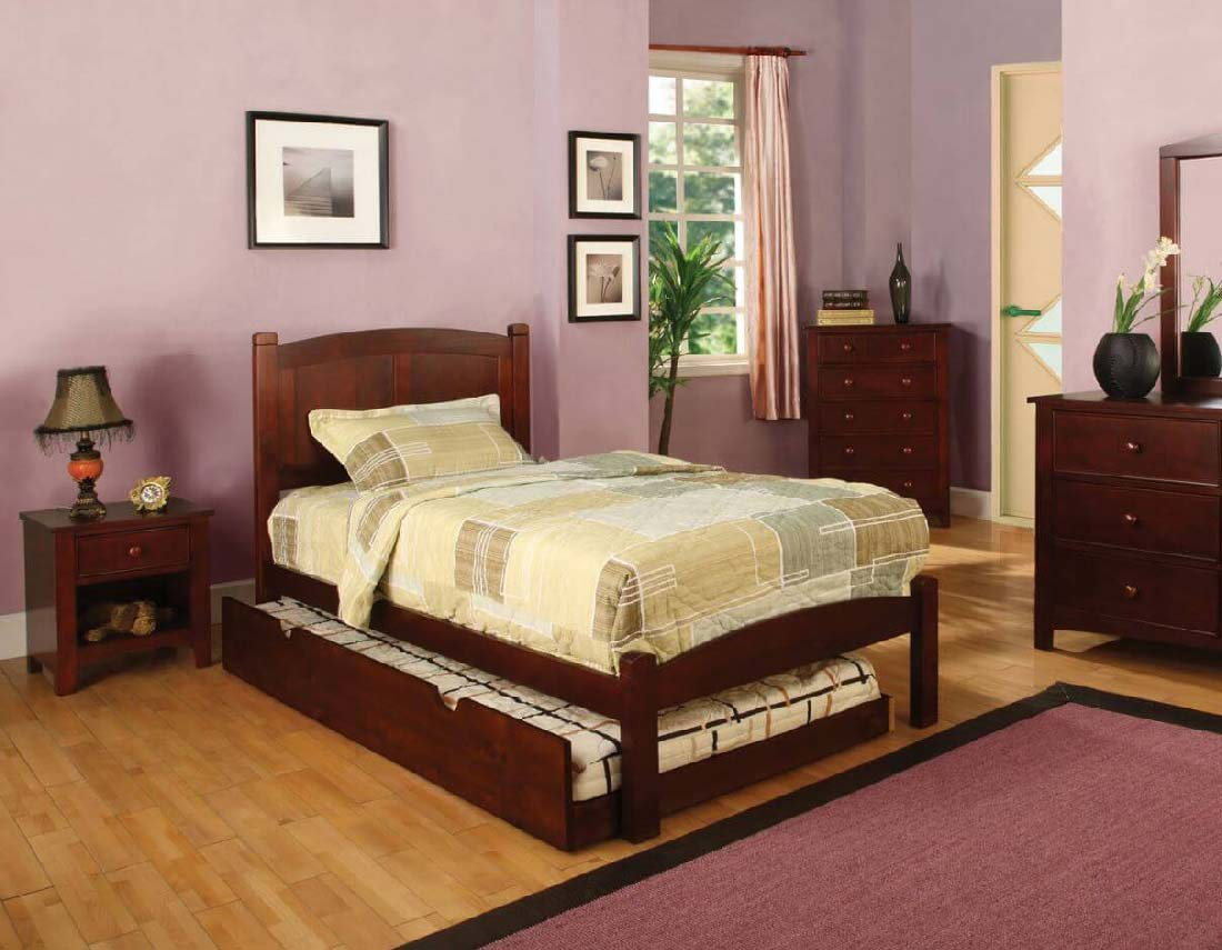 Caramo Collection Panel Bed Kids Furniture In Los Angeles