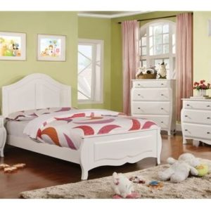 cm7940 twin white bed