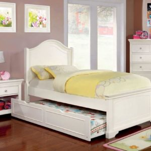 cm7943 twin white bed