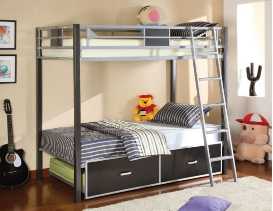 cmbk1011 twin metal bunk