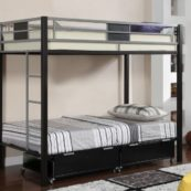 cmbk1021 twin over twin metal bunk bed