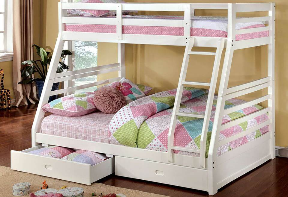 Columbia Twin Over Full Bunk Bed Kids Furniture In Los