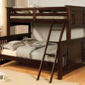 cmbk602f twin over full bunk bed in espresso