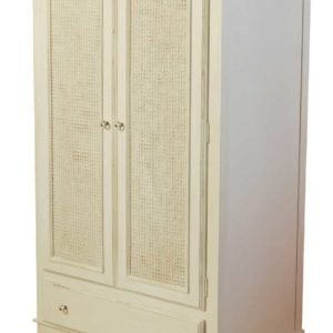 Newport Cottages Celine Armoire with Caning