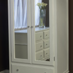 Newport Cottages Celine Armoire with Mirrored Doors