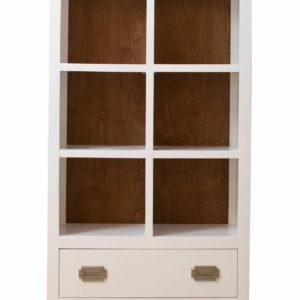 Newport Cottages Devon Bookcase with Drawer