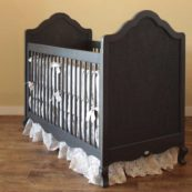 Newport Cottages Hilary Crib with Caning