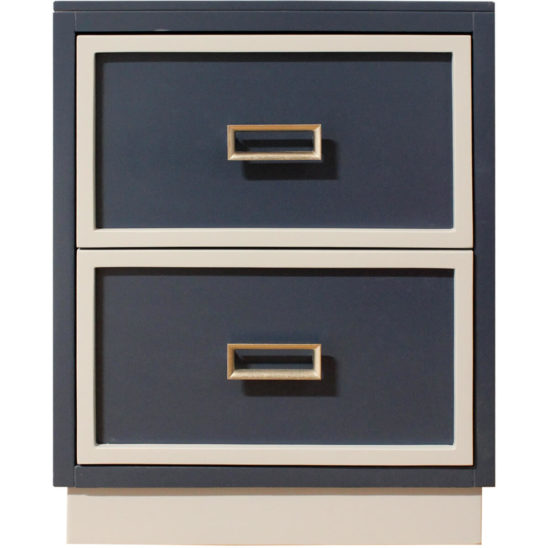 Newport Cottages Max 2 Drawer Nightstand