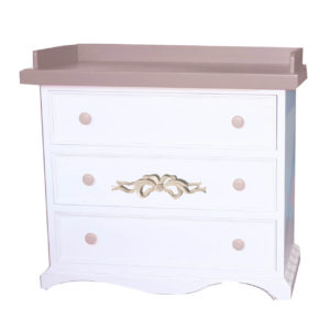 Newport Cottages Samantha 3 Drawer Dresser with Bows