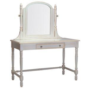Newport Cottages Victorian Vanity Desk with Mirror