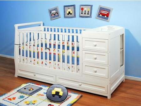 Afg Baby Furniture White Changing Table