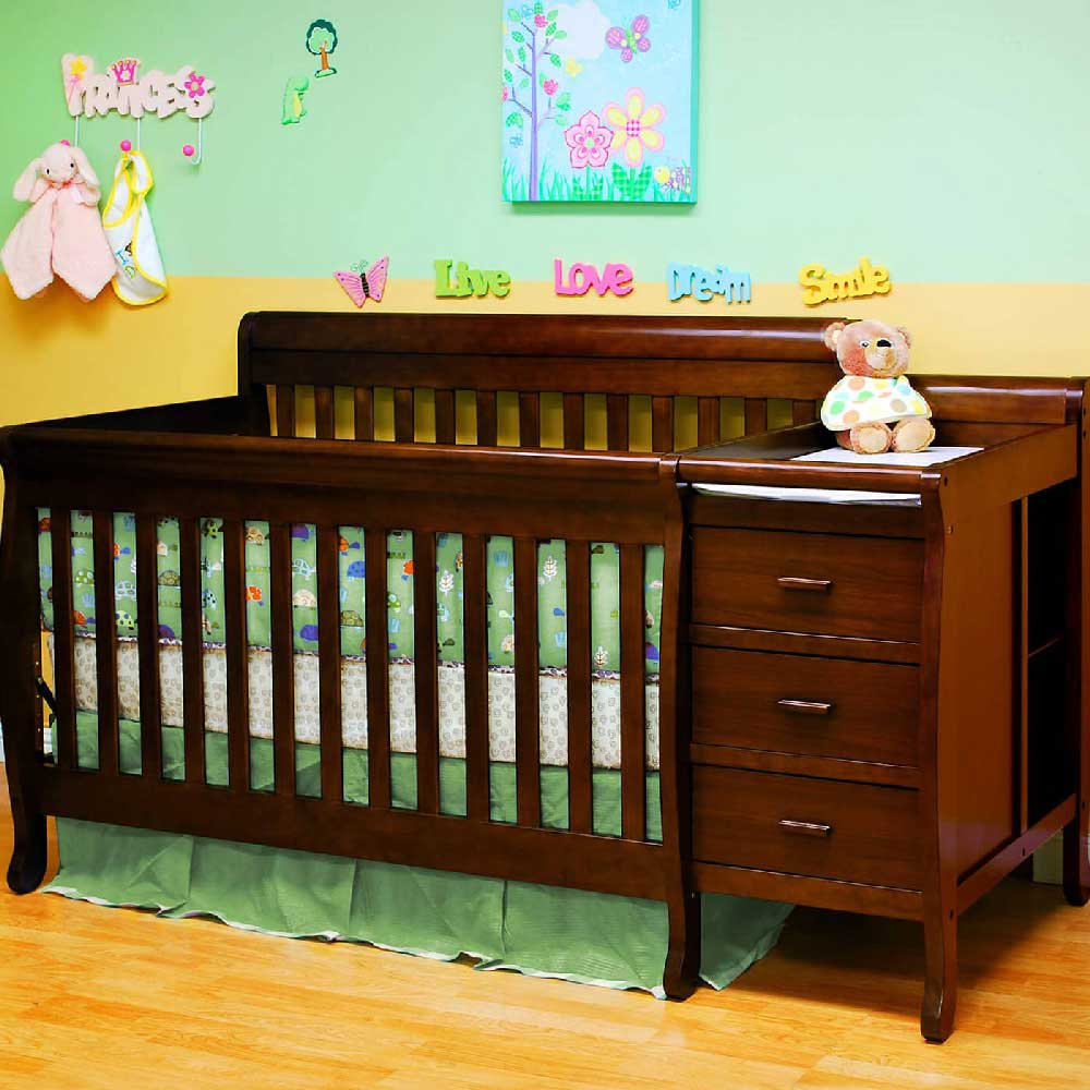 Afg Kimberly Convertible Crib In Espresso Kids Furniture