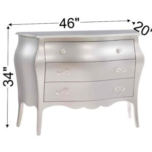 Alexa 3 Drawer Dresser Dimensions