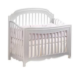 Alexa 5 in 1 Convertible Crib in Silver
