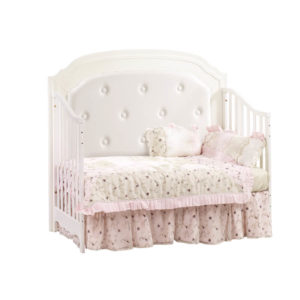 Allegra 4 in 1 Convertible Crib in French White Daybed