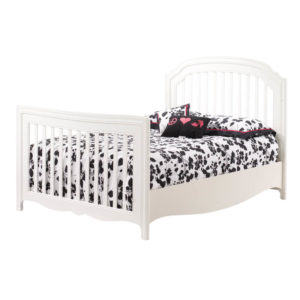 Allegra 4 in 1 Convertible Crib in French White Double Bed