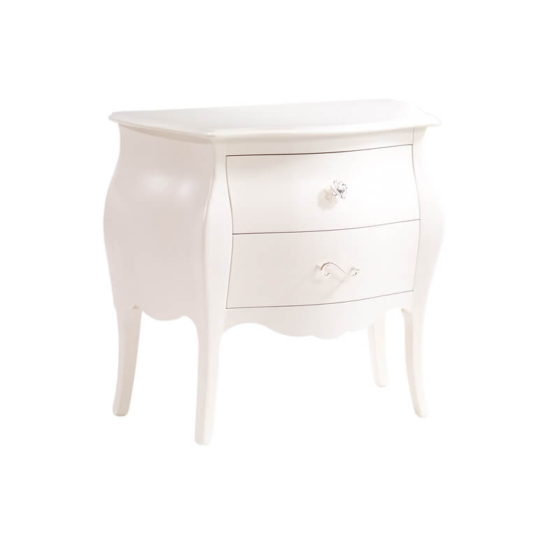 Allegra Nightstand in French White