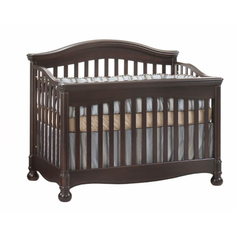 Natart Juvenile Avalon Quot 5 In 1 Quot Convertible Crib In Cocoa