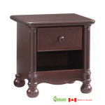 Avalon Nightstand in Cocoa