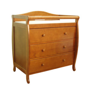 Grace Changing Table in Pecan