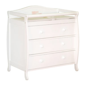 Grace Changing Table in White