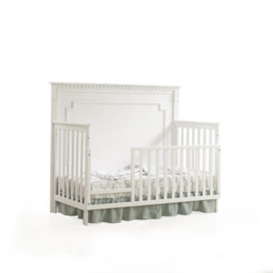 Ithaca 5 in 1 Convertible Crib in White B