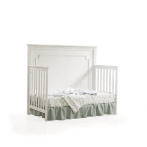 Ithaca 5 in 1 Convertible Crib in White C