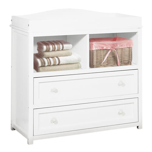 Leila Changing Table in White