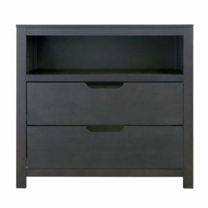 OSLO 2-Drawer Adjustable Dresser in Slate