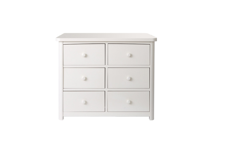 Baby Appleseed Stratford 6 Drawer Double Dresser Kids