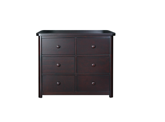 Baby Appleseed Stratford 6 Drawer Double Dresser