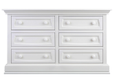 Baby Appleseed 6 Drawer Double Dresser