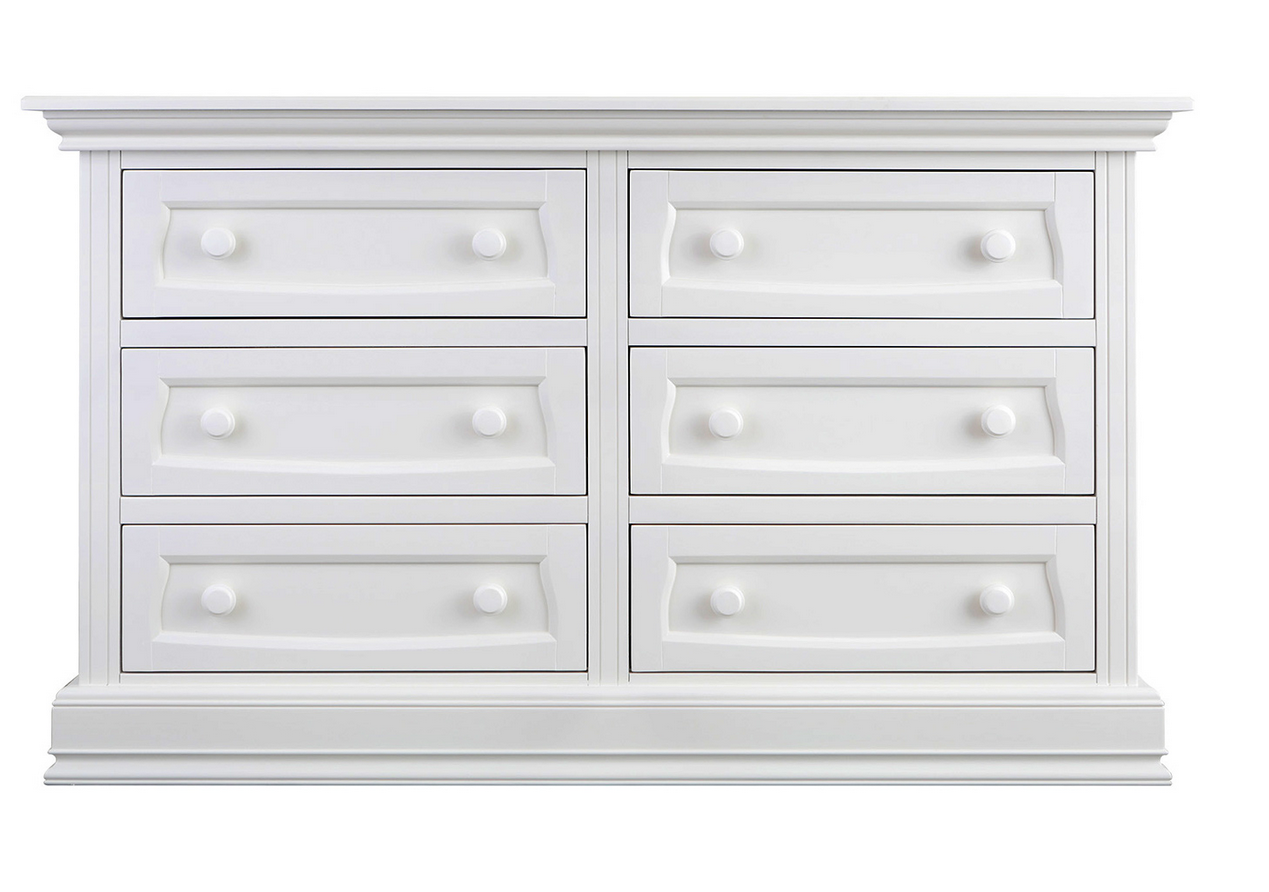 Baby Appleseed 6 Drawer Double Dresser Kids Furniture In