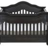 Baby Appleseed Millbury Convertible Crib in Slate