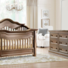 baby appleseed millbury convertible crib in coco