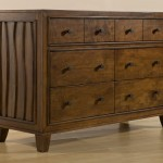Skyla Double Dresser in Walnut