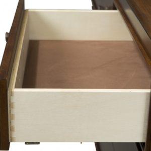 Skyla Double Dresser in Walnut A