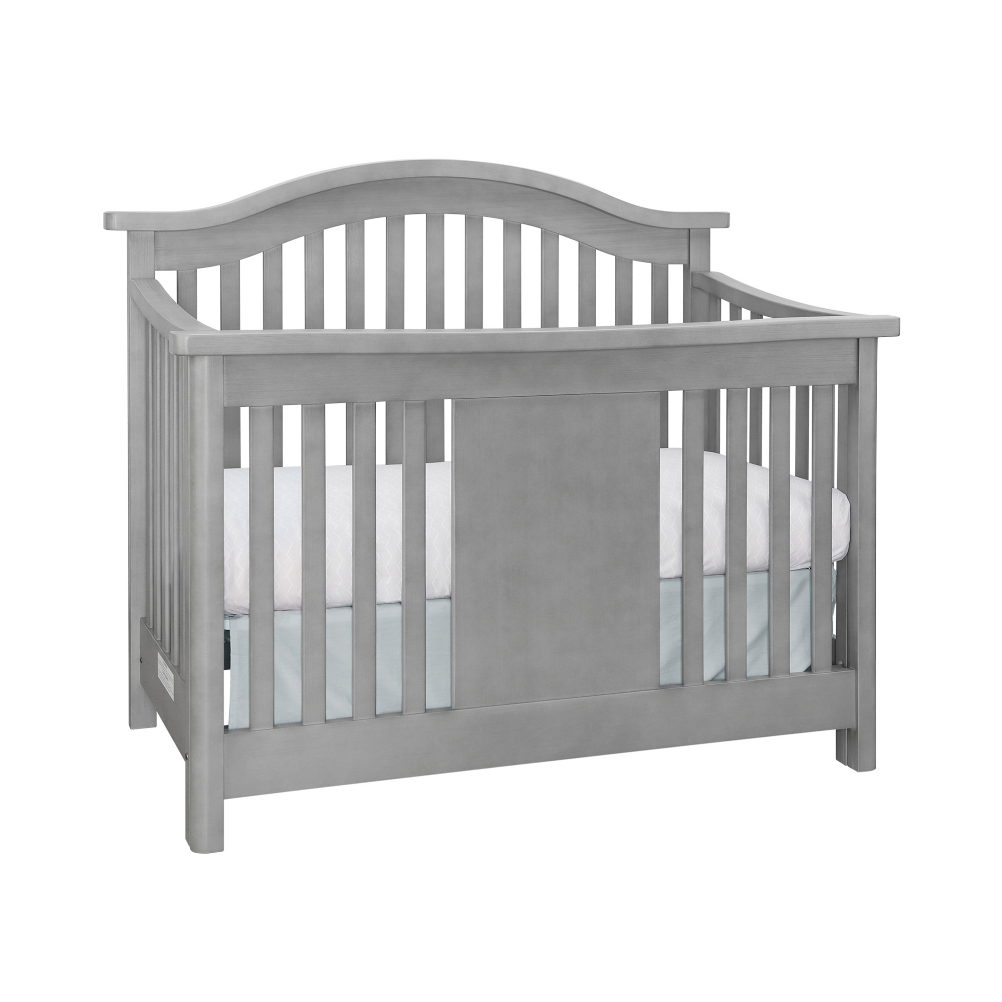 Baby Appleseed Stratford Convertible Crib Pure White